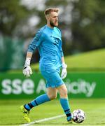 30 May 2019; Conor Kearns of Republic of Ireland U21's during the Friendly match between Republic of Ireland and Republic of Ireland U21's at the FAI National Training Centre in Dublin. Photo by Harry Murphy/Sportsfile