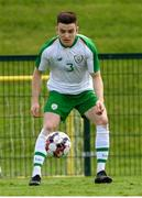 30 May 2019; Darragh Leahy of Republic of Ireland U21's during the Friendly match between Republic of Ireland and Republic of Ireland U21's at the FAI National Training Centre in Dublin. Photo by Harry Murphy/Sportsfile