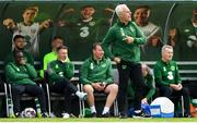 30 May 2019; Republic of Ireland manager Mick McCarthy during the Friendly match between Republic of Ireland and Republic of Ireland U21's at the FAI National Training Centre in Dublin. Photo by Harry Murphy/Sportsfile
