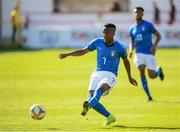 13 May 2019; Franco Tongya of Italy during the 2019 UEFA European Under-17 Championships quarter-final match between Italy and Portugal at Tolka Park in Dublin. Photo by Stephen McCarthy/Sportsfile