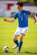13 May 2019; Francesco Lamanna of Italy during the 2019 UEFA European Under-17 Championships quarter-final match between Italy and Portugal at Tolka Park in Dublin. Photo by Stephen McCarthy/Sportsfile