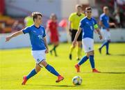 13 May 2019; Michael Brentan of Italy during the 2019 UEFA European Under-17 Championships quarter-final match between Italy and Portugal at Tolka Park in Dublin. Photo by Stephen McCarthy/Sportsfile
