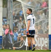 25 May 2019; Dublin captain and goalkeeper Stephen Cluxton during the Leinster GAA Football Senior Championship Quarter-Final match between Louth and Dublin at O'Moore Park in Portlaoise, Laois. Photo by Ray McManus/Sportsfile