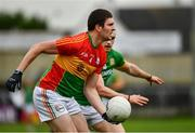 25 May 2019; Conor Lawlor of Carlow during the Leinster GAA Football Senior Championship Quarter-Final match between Carlow and Meath at O'Moore Park in Portlaoise, Laois. Photo by Ray McManus/Sportsfile