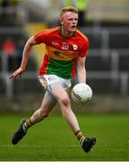 25 May 2019; Conor Doyle of Carlow during the Leinster GAA Football Senior Championship Quarter-Final match between Carlow and Meath at O'Moore Park in Portlaoise, Laois. Photo by Ray McManus/Sportsfile