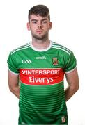 31 May 2019; Oisin McLaughlin during a Mayo Football squad portraits session in Elverys MacHale Park in Castlebar, Mayo. Photo by Harry Murphy/Sportsfile