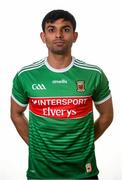 31 May 2019; Shairoze Akram during a Mayo Football squad portraits session in Elverys MacHale Park in Castlebar, Mayo. Photo by Harry Murphy/Sportsfile