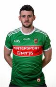 31 May 2019; Brendan Harrison during a Mayo Football squad portraits session in Elverys MacHale Park in Castlebar, Mayo. Photo by Harry Murphy/Sportsfile