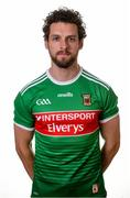 31 May 2019; Tom Parsons during a Mayo Football squad portraits session in Elverys MacHale Park in Castlebar, Mayo. Photo by Harry Murphy/Sportsfile