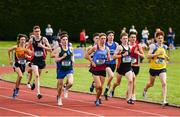 1 June 2019; A general view of the field during the Inter Boys 1500m event during the Irish Life Health All-Ireland Schools Track and Field Championships in Tullamore, Co Offaly. Photo by Sam Barnes/Sportsfile
