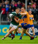 1 June 2019; David Clifford of Kerry in action against Cillian Brennan of Clare during the Munster GAA Football Senior Championship semi-final match between Clare and Kerry at Cusack Park in Ennis, Co Clare. Photo by Diarmuid Greene/Sportsfile