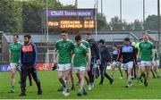 1 June 2019; Limerick players leave the field after the Munster GAA Football Senior Championship semi-final match between Cork and Limerick at Páirc Ui Rinn in Cork. Photo by Matt Browne/Sportsfile