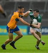 1 June 2019; Diarmuid O'Connor of Kerry in action against Dean Ryan of Clare during the Munster GAA Football Senior Championship semi-final match between Clare and Kerry at Cusack Park in Ennis, Co Clare. Photo by Diarmuid Greene/Sportsfile