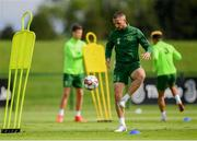 2 June 2019; Conor Hourihane during a Republic of Ireland Training Session at the FAI National Training Centre in Abbotstown, Dublin. Photo by Harry Murphy/Sportsfile