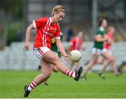 1 June 2019; Saoirse Noonan of Cork during the TG4 Munster Ladies Football Senior Championship match between Cork and Kerry at Páirc Ui Rinn in Cork. Photo by Matt Browne/Sportsfile