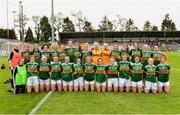 1 June 2019; The Kerry squad before the TG4 Munster Ladies Football Senior Championship match between Cork and Kerry at Páirc Ui Rinn in Cork. Photo by Matt Browne/Sportsfile