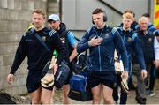 2 June 2019; Tipperary players including Noel McGrath, left, and Padraic Maher arrive prior to the Munster GAA Hurling Senior Championship Round 3 match between Clare and Tipperary at Cusack Park in Ennis, Co. Clare. Photo by Diarmuid Greene/Sportsfile