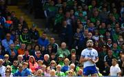 2 June 2019; Pauric Mahony of Waterford reacts to missing a free during the Munster GAA Hurling Senior Championship Round 3 match between Waterford and Limerick at Walsh Park in Waterford. Photo by Ramsey Cardy/Sportsfile