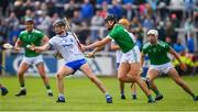 2 June 2019; Calum Lyons of Waterford in action against Gearoid Hegarty of Limerick during the Munster GAA Hurling Senior Championship Round 3 match between Waterford and Limerick at Walsh Park in Waterford. Photo by Ramsey Cardy/Sportsfile