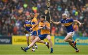 2 June 2019; Tony Kelly of Clare in action against Brendan Maher of Tipperary during the Munster GAA Hurling Senior Championship Round 3 match between Clare and Tipperary at Cusack Park in Ennis, Co. Clare. Photo by Diarmuid Greene/Sportsfile
