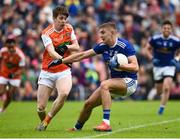 2 June 2019; Killian Clarke of Cavan in action against Andy Murnin of Armagh during the Ulster GAA Football Senior Championship Semi-Final match between Cavan and Armagh at St Tiernach's Park in Clones, Monaghan. Photo by Oliver McVeigh/Sportsfile
