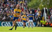 2 June 2019; Peter Duggan of Clare takes a free during the Munster GAA Hurling Senior Championship Round 3 match between Clare and Tipperary at Cusack Park in Ennis, Co. Clare. Photo by Diarmuid Greene/Sportsfile