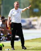 3 June 2019; Republic of Ireland manager Stephen Kenny during the 2019 Maurice Revello Toulon Tournament match between China and Republic of Ireland at Stade de Lattre de Tassigny in Aubagne, France. Photo by Alexandre Dimou/Sportsfile