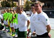 3 June 2019; Republic of Ireland manager Stephen Kenny prior to the 2019 Maurice Revello Toulon Tournament match between China and Republic of Ireland at Stade de Lattre de Tassigny in Aubagne, France. Photo by Alexandre Dimou/Sportsfile