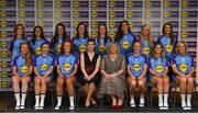 31 May 2019; The 2019 Teams of the Lidl Ladies National Football League awards were presented at Croke Park on Friday, May 31. The best players from the four divisions in the Lidl National Football Leagues were selected by the LGFA's All Star committee. The Lidl Division 1 Team of the League is pictured with Marie Hickey, Ladies Gaelic Football Association President, and Sian Gray, Head of Marketing, Lidl Ireland. Photo by David Fitzgerald/Sportsfile