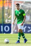 3 June 2019; Jayson Molumby captain of Ireland in action during the 2019 Maurice Revello Toulon Tournament match between China and Republic of Ireland at Stade de Lattre de Tassigny in Aubagne, France. Photo by Alexandre Dimou/Sportsfile