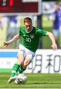 3 June 2019; Connor Ronan of Ireland in action during the 2019 Maurice Revello Toulon Tournament match between China and Republic of Ireland at Stade de Lattre de Tassigny in Aubagne, France. Photo by Alexandre Dimou/Sportsfile