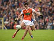 2 June 2019; Jarleth Óg Burns of Armagh during the Ulster GAA Football Senior Championship Semi-Final match between Cavan and Armagh at St Tiernach's Park in Clones, Monaghan. Photo by Oliver McVeigh/Sportsfile