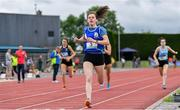 1 June 2019;  Lucy Holmes of Ard Scoil na nDeise, Co. Waterford, competing in the Senior Girls 800m event during the Irish Life Health All-Ireland Schools Track and Field Championships in Tullamore, Co Offaly. Photo by Sam Barnes/Sportsfile