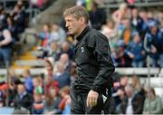 2 June 2019; Armagh Manager Kieran McGeeney during the Ulster GAA Football Senior Championship Semi-Final match between Cavan and Armagh at St Tiernach's Park in Clones, Monaghan. Photo by Oliver McVeigh/Sportsfile