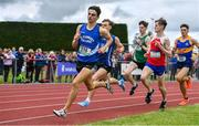 1 June 2019; Ben Deasy of St Flannans, Co. Clare, leads the field whilst competing in the Senior Boys 800m event during the Irish Life Health All-Ireland Schools Track and Field Championships in Tullamore, Co Offaly. Photo by Sam Barnes/Sportsfile