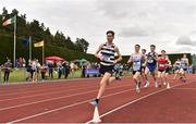 1 June 2019; Shay McEvoy of St Kieran's, Co. Kilkenny, competing in the Senior Boys 1500m  during the Irish Life Health All-Ireland Schools Track and Field Championships in Tullamore, Co Offaly. Photo by Sam Barnes/Sportsfile