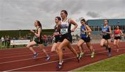 1 June 2019; Alyce O'Connor of PS Inbhearsceine, Co. Kerry, competing in the Senior Girls 1500m event during the Irish Life Health All-Ireland Schools Track and Field Championships in Tullamore, Co Offaly. Photo by Sam Barnes/Sportsfile