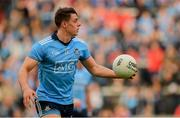 25 May 2019; Brian Howard of Dublin during the Leinster GAA Football Senior Championship Quarter-Final match between Louth and Dublin at O'Moore Park in Portlaoise, Laois. Photo by Eóin Noonan/Sportsfile
