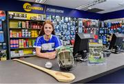 6 June 2019; Collette Dormer, Paulstown/Gorebridge and Kilkenny, pictured at the announcement that Chadwicks are the new sponsor of the Leinster GAA Chadwicks Club Hurling League were Collette Dormer, Paulstown/Gorebridge and Kilkenny, Tommy Walsh, Tullaroan and Kilkenny and Eamonn Dillon, Naomh Fionnbarra and Dublin at Chadwicks Lucan, Laraghcon, Lucan, Co. Dublin. Chadwicks today launched the Chadwicks Kit-Out competition to celebrate the sponsorship, offering clubs in Leinster the chance to win over €20,000 worth of product to improve their clubhouse facilities. To enter go to chadwicks.ie Photo by Matt Browne/Sportsfile