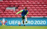6 June 2019; Matt Doherty during a Republic of Ireland training session at Telia Parken in Copenhagen, Denmark. Photo by Stephen McCarthy/Sportsfile