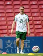 6 June 2019; Republic of Ireland assistant coach Robbie Keane during a training session at Telia Parken in Copenhagen, Denmark. Photo by Stephen McCarthy/SportsfilePhoto by Barry Cregg/Sportsfile
