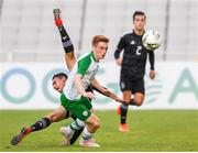 6 June 2019; Connor Ronan of Ireland in action during the 2019 Maurice Revello Toulon Tournament match between Mexico and Republic of Ireland at Parsemain in Fos-sur-Mer, France. Photo by Alexandre Dimou/Sportsfile