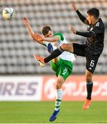 6 June 2019; Jayson Molumby captain of Ireland in action against Erick Germain Aguirre of Mexico during the 2019 Maurice Revello Toulon Tournament match between Mexico and Republic of Ireland at Parsemain in Fos-sur-Mer, France. Photo by Alexandre Dimou