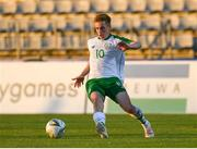 6 June 2019; Connor Ronan of Ireland in action during the 2019 Maurice Revello Toulon Tournament match between Mexico and Republic of Ireland at Parsemain in Fos-sur-Mer, France. Photo by Alexandre Dimou