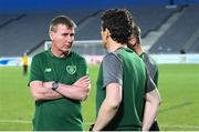 6 June 2019; Ireland head coach Stephen Kenny during the 2019 Maurice Revello Toulon Tournament match between Mexico and Republic of Ireland at Parsemain in Fos-sur-Mer, France. Photo by Alexandre Dimou/Sportsfile