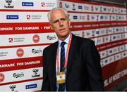 7 June 2019; Republic of Ireland manager Mick McCarthy arrives prior to the UEFA EURO2020 Qualifier Group D match between Denmark and Republic of Ireland at Telia Parken in Copenhagen, Denmark. Photo by Stephen McCarthy/Sportsfile