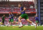 7 June 2019; John Egan of Republic of Ireland warms-up prior to the UEFA EURO2020 Qualifier Group D match between Denmark and Republic of Ireland at Telia Parken in Copenhagen, Denmark. Photo by Stephen McCarthy/Sportsfile