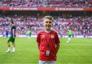 7 June 2019; Tiernan O'Kelly, from Dundrum, prior to the UEFA EURO2020 Qualifier Group D match between Denmark and Republic of Ireland at Telia Parken in Copenhagen, Denmark. Photo by Stephen McCarthy/Sportsfile