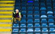 8 June 2019; A steward awaits the opening of the gates ahead of the Ulster GAA Football Senior Championship semi-final match between Donegal and Tyrone at Kingspan Breffni Park in Cavan. Photo by Ramsey Cardy/Sportsfile