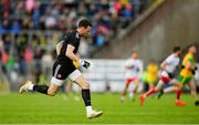 8 June 2019; Tyrone goalkeeper Niall Morgan returns to his goal after making a break up the pitch during the Ulster GAA Football Senior Championship semi-final match between Donegal and Tyrone at Kingspan Breffni Park in Cavan. Photo by Ramsey Cardy/Sportsfile